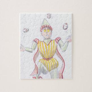 medieval baron juggling eggs puzzle