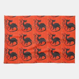 Medieval Beastie Towels