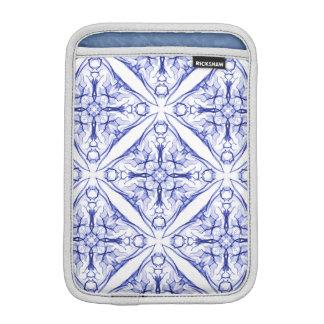 Medieval Blue Tile Sleeve For iPad Mini