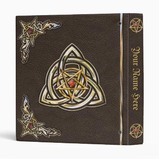 Medieval Book of Shadows Vinyl Binder