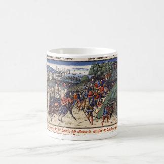 Medieval book painting 001 cup coffee mug