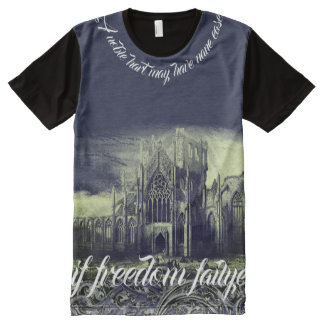 Medieval Braveheart Midnight Blue All-Over-Print Shirt