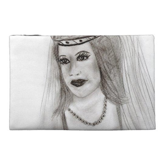 Medieval Bride Travel Accessory Bag
