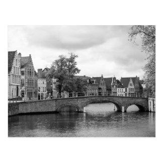 Medieval Bridge Postcard: Brugge Postcard