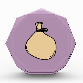 Medieval Brown Sack Bag Award