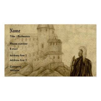 Medieval Double-Sided Standard Business Cards (Pack Of 100)