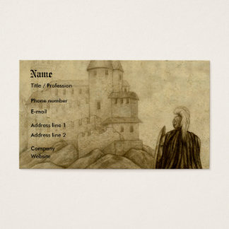Medieval Business Card
