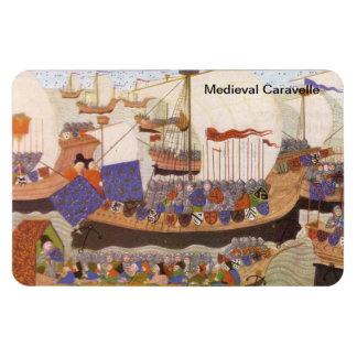 Medieval caravelle magnet