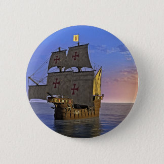 Medieval Carrack at Twilight Button