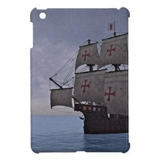 Medieval Carrack Becalmed iPad Mini Cover