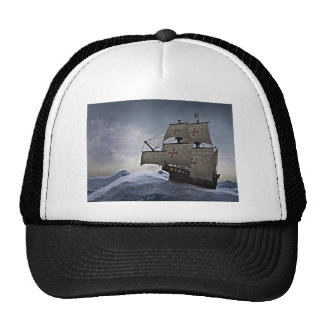 Medieval Carrack in the Storm Trucker Hat