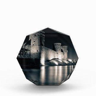 Medieval castle acrylic award