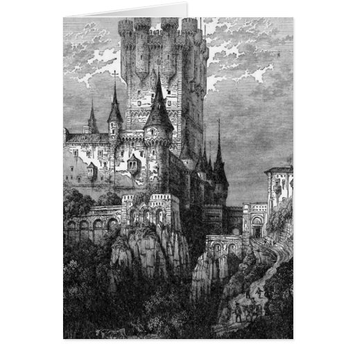 Medieval Castle Greeting/Note Card