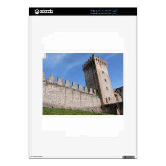 medieval castle knights ancient old antique brick decal for the iPad 2