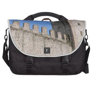 medieval castle knights ancient old antique brick laptop commuter bag