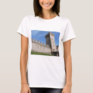 medieval castle knights ancient old antique brick T-Shirt