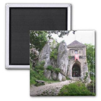 Medieval Castle Ruins Magnet