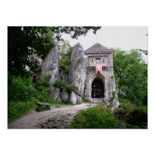 Medieval Castle Ruins Posters
