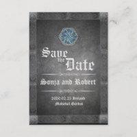 Medieval Celtic Stone Wedding Invitation