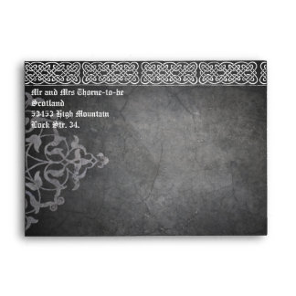 Medieval Celtic Wedding Envelope