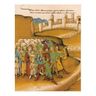 ¿medieval? ¿Cerco de Viena de los turcos? Postales