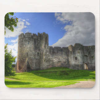 Medieval Chepstow Castle Monmouthshire, Wales, UK Mouse Pads