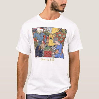 medieval-chess-player T-Shirt