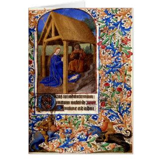Medieval Christmas Card 1