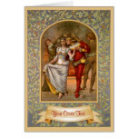 Medieval Christmas Template Cards