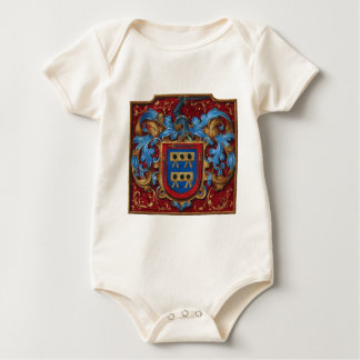 Medieval Coat of Arms Baby Bodysuit