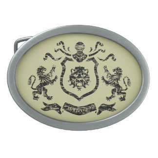 Medieval Coat of Arms - Belt Buckle