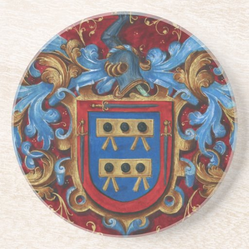 Medieval Coat of Arms Coaster