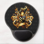 "Medieval Coat of Arms Gel Mouse Pad<br><div class=""desc"">Medieval Coat of Arms</div>"