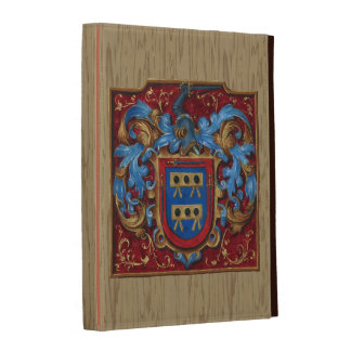 Medieval Coat of Arms iPad Case