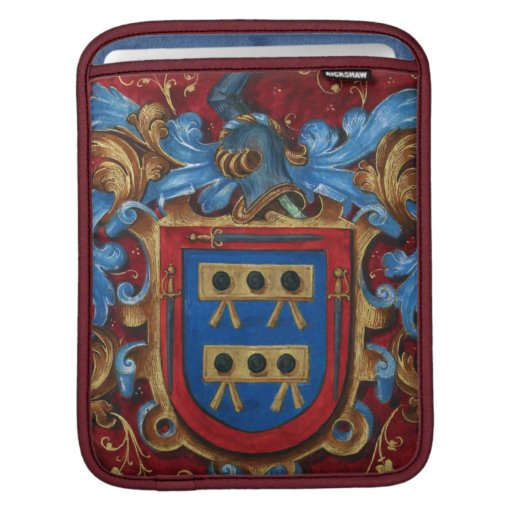 Medieval Coat of Arms iPad Sleeves