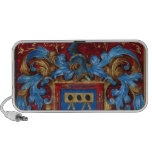 Medieval Coat of Arms iPod Speakers