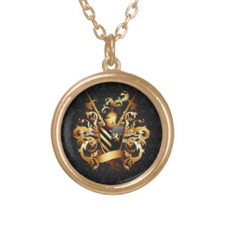 Medieval Coat of Arms Necklace