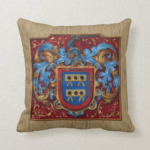 Medieval Coat of Arms Pillows