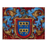 Medieval Coat of Arms Postcards