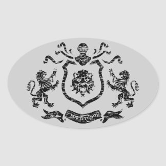 Medieval Coat of Arms - Sticker