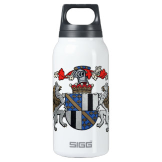 Medieval Coat of Arms Thermos Water Bottle
