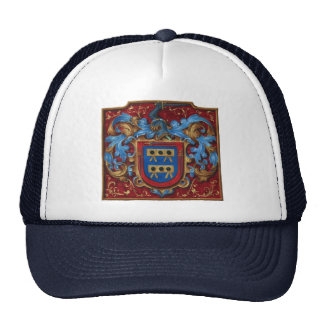 Medieval Coat of Arms Trucker Hat
