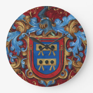 Medieval Coat of Arms Wall Clock