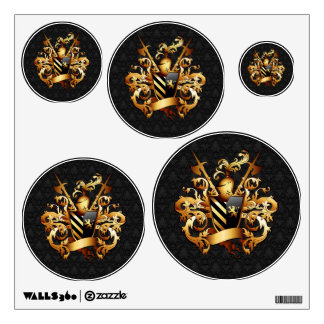 Medieval Coat of Arms Wall Decals
