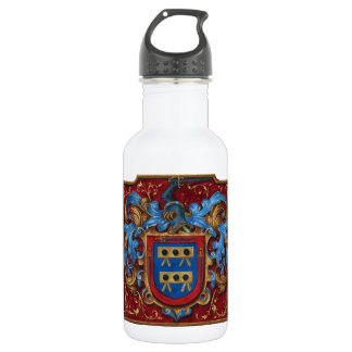 Medieval Coat of Arms Water Bottle