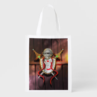 Medieval Coat of arms Grocery Bags