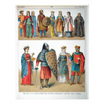 Medieval Costumes Personalized Letterhead