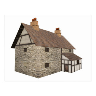 Medieval Country House  - 2 Postcard