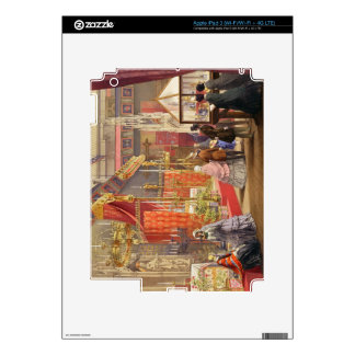 Medieval Court, designed by Pugin, plate 40 from ' iPad 3 Decals