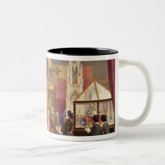 Medieval Court, designed by Pugin, plate 40 from ' Two-Tone Coffee Mug